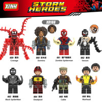 Mainan Lego Marvel Minifigure Set X0166 659-666 - Limited Minifigure