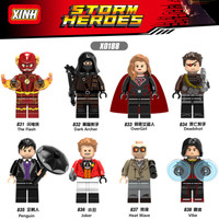 Mainan Lego DC Minifigure Set X0188 831-838 - Limited Minifigure