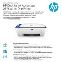 HP DeskJet 2676 Printer All In One Wireless Original