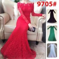 Harga Long Dress Brukat Travelbon.com