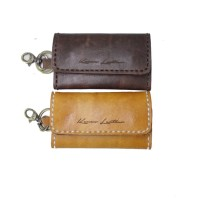 Keychain Tan/Brown - Kenes Leather Bag