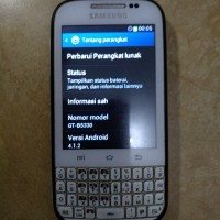 hp second hp bekas android samsung galaxy chat b5330 putih minusan bac