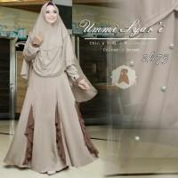 Baju gamis muslimah ummi syari gamis wanita terbaru kekinian sbb