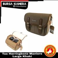 Tas Herringbone Maniera Large Khaki Original