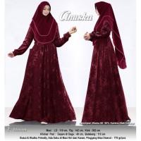 Baju Busana Muslim Wanita Gamis Syari Pesta Anuska Uragiri CRT Terbaru