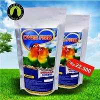 Promo OVER FEED PAKAN KHUSUS INDUKAN BURUNG LOVEBIRD Diskon