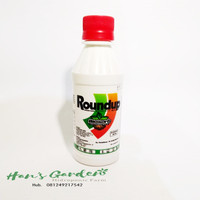 Harga pembasmi rumput gulma roundup 486 sl herbisida 200 | antitipu.com