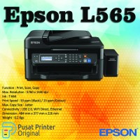 Printer Epson L565 Original (Print, Scan, Copy Fax)