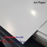 Harga cetak kertas art paper