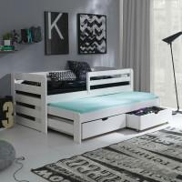 Sofa bed daybed tempat tidur dipan divan laci minimalis kayu solid