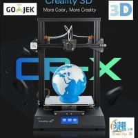 Creality 3D CR-X Dual Extruder versi terbaru 3D Printer Ukuran Besar