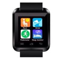 [TERBARU] Smartwatch U Watch U8 - Black Smart Watch