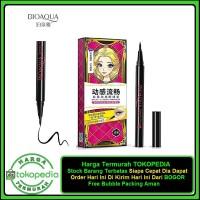 Bioaqua Eyeliner Silky Cool Black Waterproof / Eye Liner / Pensil Alis