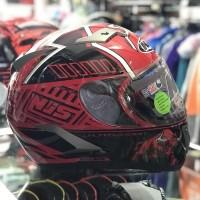 Helm Full Face NJS Red Bull N 805