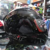 Helm Full Face KYT RC 7 Solid Black