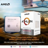 AMD Athlon 200GE (Radeon Vega 3) 3.2Ghz Cache 4MB 35W Socket AM4 [BOX]