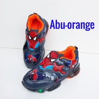 sepatu spiderman #sepatu spiderman led #sepatu anak laki