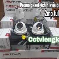 PAKET CCTV 4CHANNEL HIKVISION 2.OMEGAPIXEL 1080P FULL HD