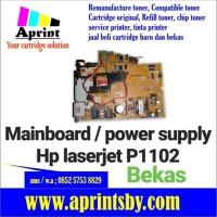 power supply printer laserjet hp p1102 mainboard 1102 bekas copotan