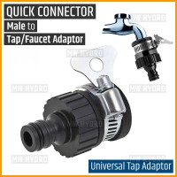 Universal Tap Adaptor, Konektor Keran, Quick Connector Male to Faucet