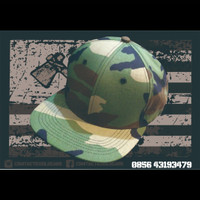 CSM flexfit cap full camo woodland & multicam