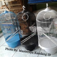 1 DUS KANDANG BURUNG MODEL KAPSUL D33CM BOOM U/ LOVEBIRD FALK (ISI 10)