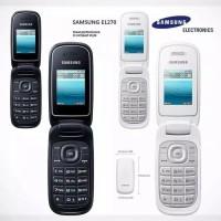 HP SAMSUNG LIPAT CARAMEL DUAL SIM E1270 BLACK DAN WHITE