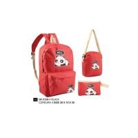 Girl Backpack Tas Ransel Sekolah Anak Perempuan Golfer GF.5728