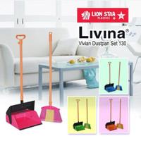 Livina series Vivian dustpan set 130 /pengki sapu set lion star