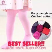 Baby Legging Liddon Combed Cotton / Leging / Stocking Bayi Newborn