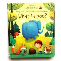 Harga usborne lift the flap what is poo buku import   Pembandingharga.com