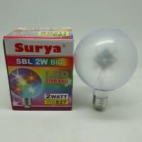 Lampu LED Disco Star Ball SURYA SBL 2W Big