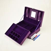 Jewelry Box / Kotak Tempat Perhiasan & Aksesoris Lengkap - Ungu
