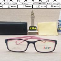 frame kacamata anak anak HAPPY frame kacamata kids minus elastis 12