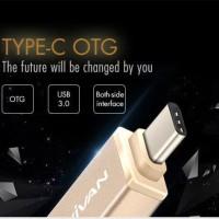 Vivan VOC-C01 USB 3.0 to Type-C OTG Adapter Converter Flashdisk ke HP