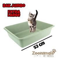 Bak kotak ukuran besar untuk pasir kandang anjing dan kucing
