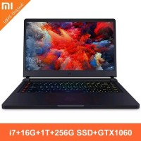 READY Xiaomi Mi Gaming Laptop 15.6 inchi WIN10 Intel Core I7-7700HQ