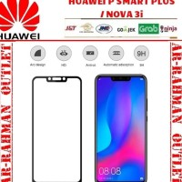 Huawei P smart + plus nova 3i tempered glass color warna full layar hp
