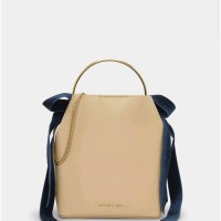 Harga charles and keith ck ribbon velvet bag original | Pembandingharga.com