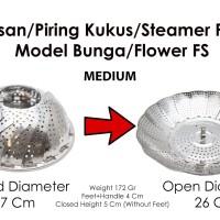 Lapisan/Piring Kukus/Steamer/Steaming Plate/Basket Bunga FSMED