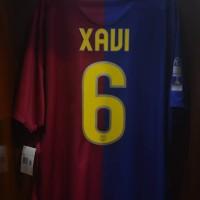 Barcelona Home 2008/09 Treble XAVI Player Issie