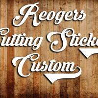 Reogers Custom Cutting Sticker