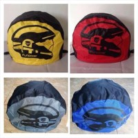 MCO3 RainCoat COVER Sarung HELM anti air Jas Hujan Tas HELM Motor Fun