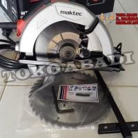 Mesin gergaji / circular saw  7 inch maktec MT583