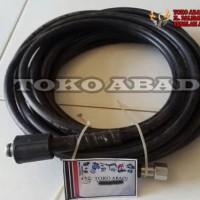 selang steam listrik /cuci motor mobil merk double thunder (10m)
