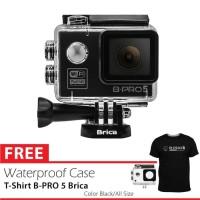 BRICA B-PRO 5 Alpha Edition (AE LITE) + T-shirt - Hitam