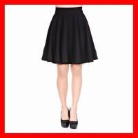 Rok Pendek Mini Hitam Wanita Murah Flare Skirt Terlaris Berkualitas