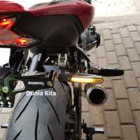 Lampu Sein Motor LED flowing mengalir