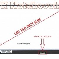 Layar LCD LED 15.6 Inch Slim 30 Pin Lenovo Ideapad 100-15IBD 100-15IBY