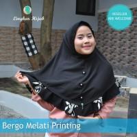 jilbab instan bergo melati printing harga grosir murah supplier